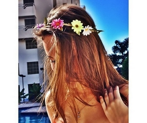 girl, hair, and instagram image