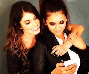 Nina Dobrev, nikki reed, and the vampire diaries image