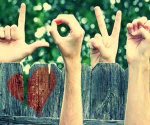 love, hands, and heart image