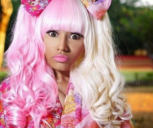 nicki minaj, pink, and nicki image