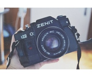 camera, zenit 122, and helios image