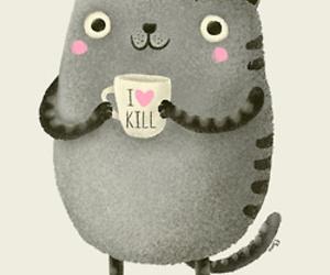 cat, cute, and art image