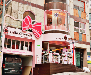 hello kitty and cafe image