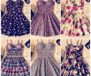 dress, flowers, and summer image