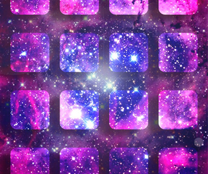 galaxy, wallpaper, and iphone image