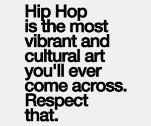 hip hop and quote image