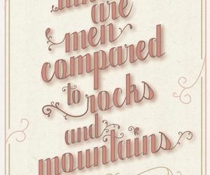 jane austen, men, and mountains image