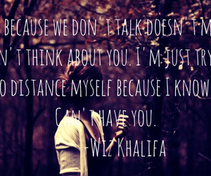 quotes, wizkhalifa, and love image