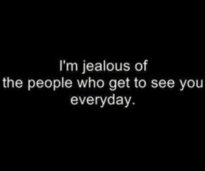 quotes, jealous, and people image