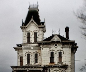 antique, victorian, and victorian house image