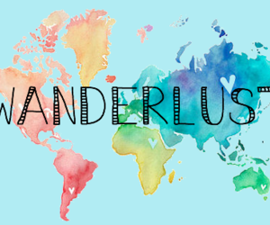wanderlust, travel, and world image