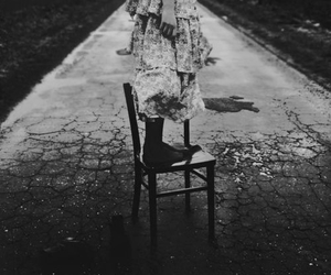chair, dress, and rugged image