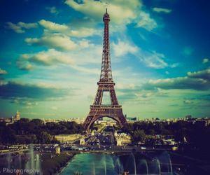 paris, france, and sky image