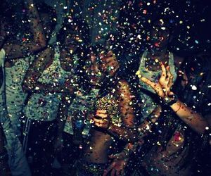 party, fun, and glitter image
