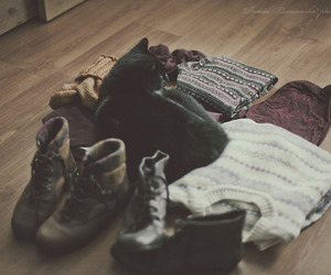 outfit, converse, and couple image