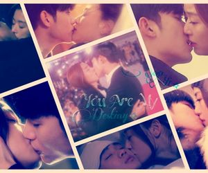 kiss, kim soo hyun, and my love from another star image