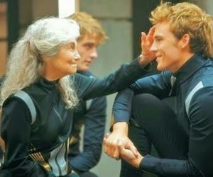 hunger games, finnick, and maggs image