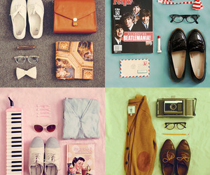 outfit, vintage, and shoes image