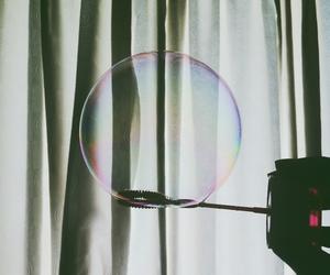 dark, room, and bubble image