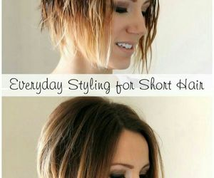 hair style, love this, and ombre image