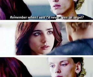 the mortal instruments, angel, and lily collins image