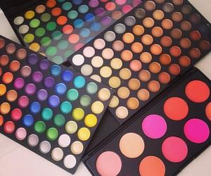 blush, eyeshadow, and color image