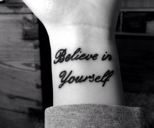 believe, in, and tattoo image