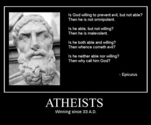 atheism, awesome, and god image