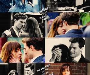 fifty shades, christian grey, and anastasia steele image