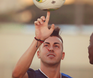 soccer and el shaarawy image