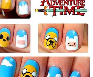 nails and adventure time image