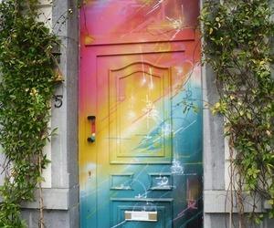 art, rainbow, and cute image