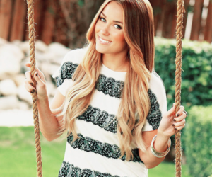 girl, lauren conrad, and hair image