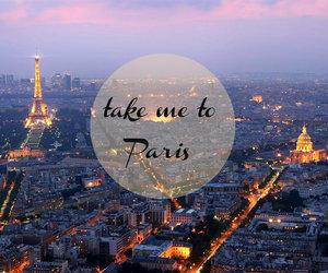 city, paris, and tour d'eiffel image