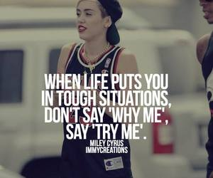 life, quotes, and miley cyrus image