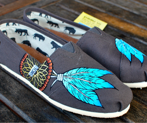 toms, photography, and shoes image