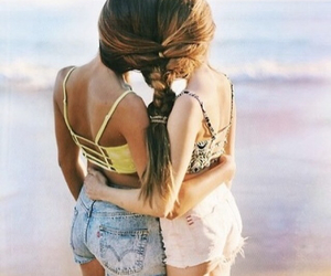 beach, beauty, and best friends image