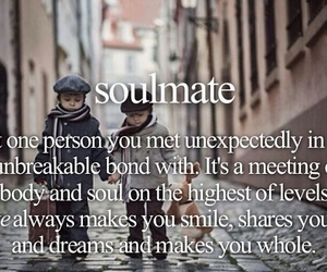 love quotes, relationship quotes, and soulmate image