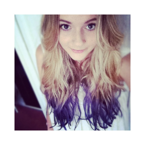 42 images about Dip dye on We Heart It | See more about hair, girl and blue