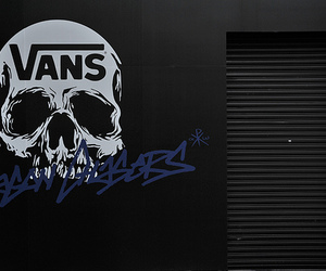vans and skull image