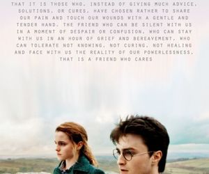 harry potter, friends, and friendship image