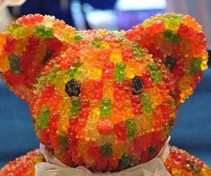 bear, sweet, and candy image