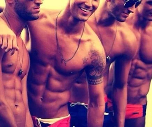abs, boys, and gorgeous image