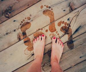 escape, nail polish, and summer image
