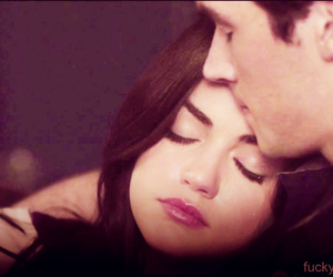 ezra, aria, and love image