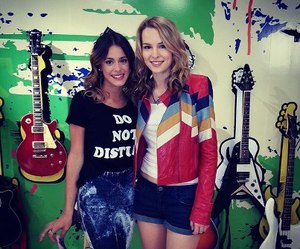 violetta, bridgit mendler, and martina stoessel image