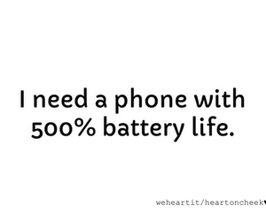 battery, phone, and funny image