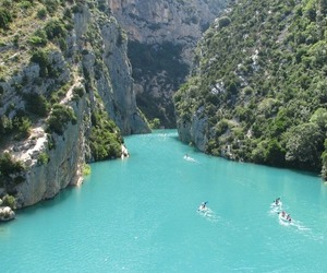 travel, france, and water image