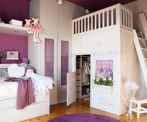 bedroom, house, and kid image