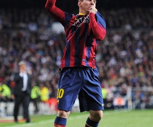 leo messi and fc barcelona image